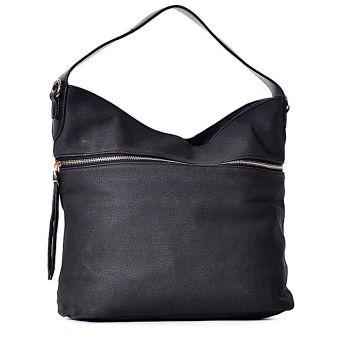 Czarna torebka na ramię BIBIANA