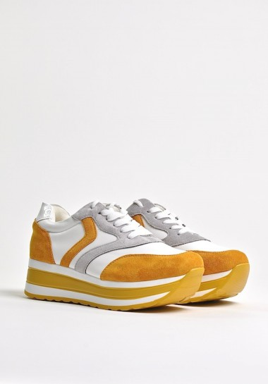 Buty sportowe damskie na platformie