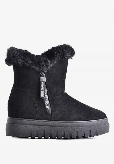 Zimowe buty damskie śniegowce