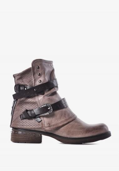 Zimowe buty damskie trapery