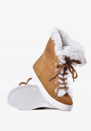 Trampki damskie na zimę