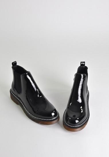 Glany damskie czarne