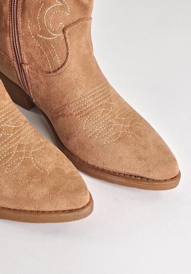 Buty kowbojki damskie