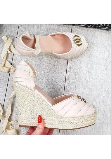 Koturny sandały espadryle