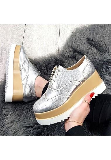srebrne botki